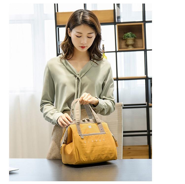 sacos fresco mantendo bento bolsa piquenique engrossar