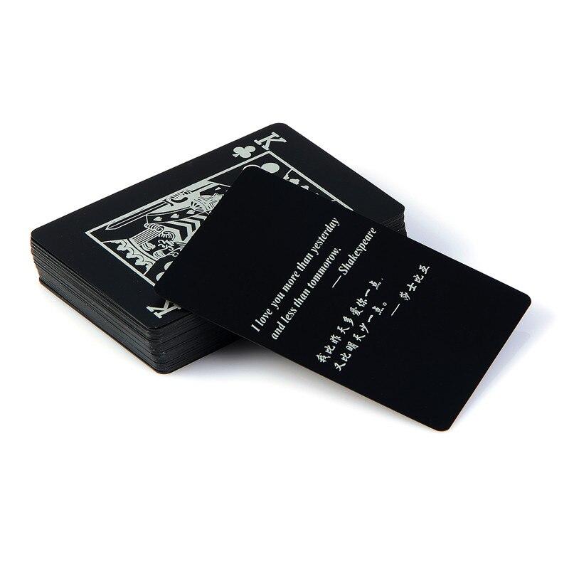 2 uds plástico negro de calidad PVC Poker impermeable Caja Mágica-lleno de cartas regalo creativo Durable puro Color negro trucos Protector de transporte Enduro de soporte de horquilla de plástico para motocicleta para KTM MX SX SXF para Honda/Yamaha