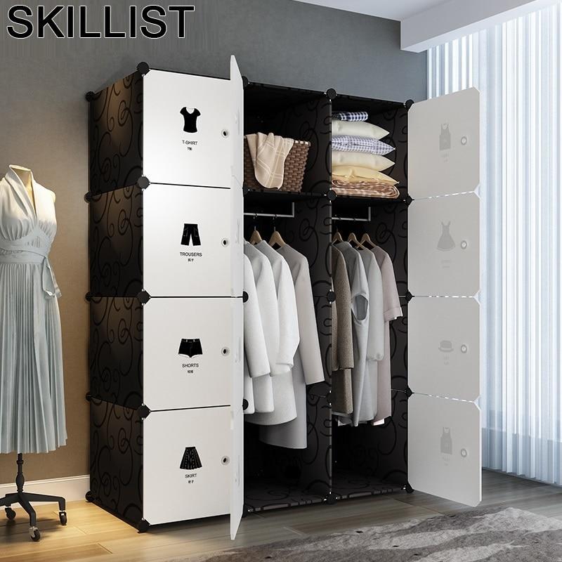 Meuble De Kleiderschrank Dressing Penderie Chambre Rangement Armario Ropero Mueble Bedroom Furniture Cabinet font b Closet