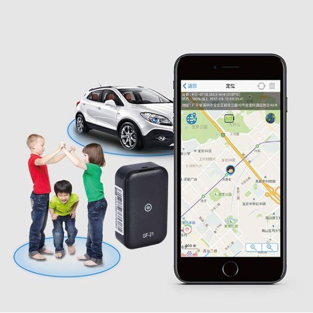 GF21 Mini GPS Car Tracker App Anti-Lost Device Voice Control Recording Locator High-definition Microphone WIFI+LBS+GPS 5