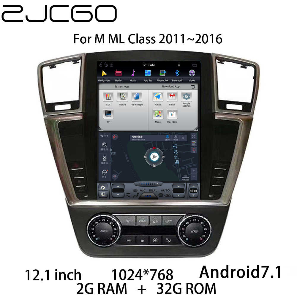 Auto Multimedia Speler Stereo Gps Dvd Radio Navigatie Navi Android Screen Voor Mercedes Benz Ml Klasse W166 2011 ~ 2016