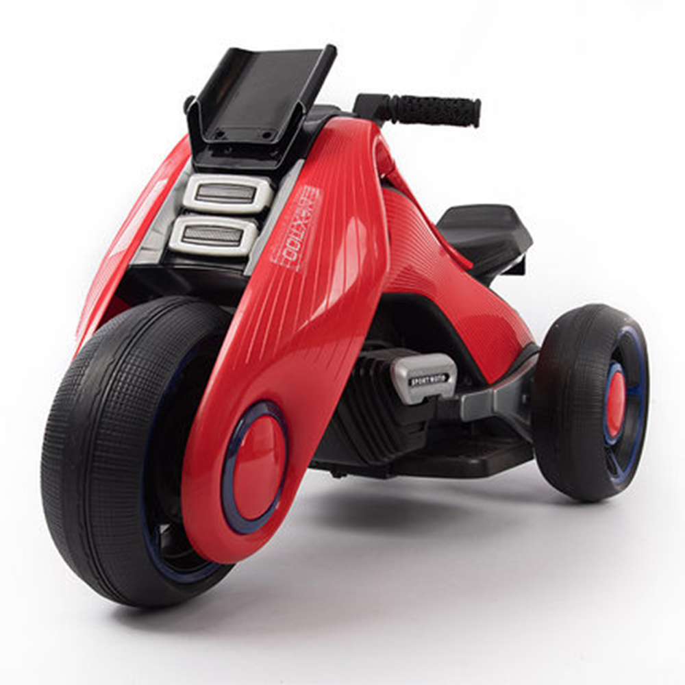 Mini Children's Electric Motortricycle Children's Electric Motorcycle Can Sit Adult Boy Girl Baby Rechargeable Tricycle Battery