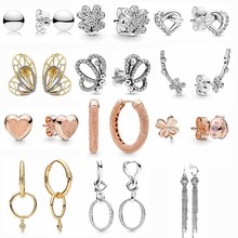 925 Sterling Silver Rose Lioness And Heart Knotted Hearts Em
