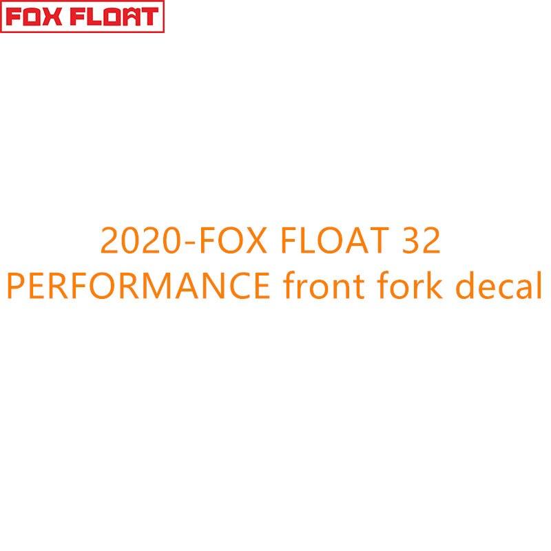 Fox 32 Performance Fork Flotteur Stickers Decals Graphics VTT 2020 Blanc