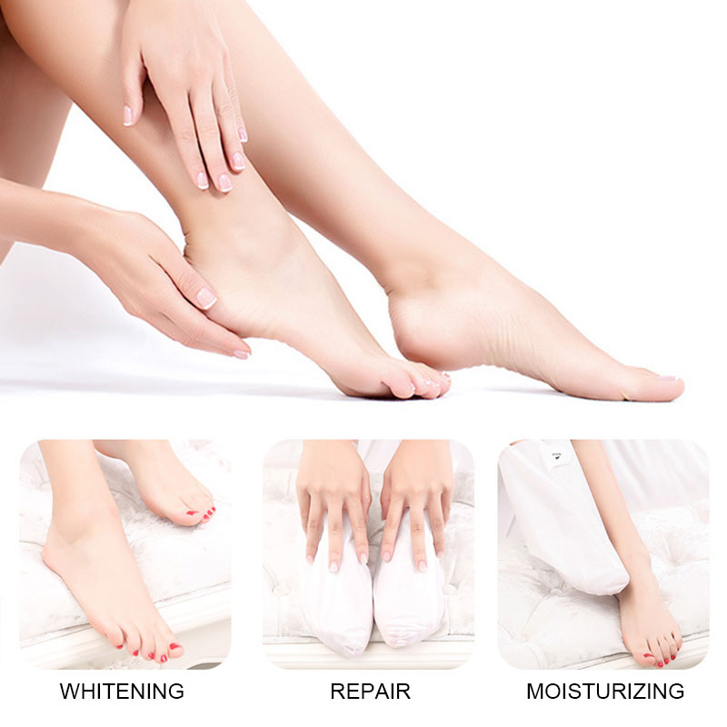 1/2/5 Pairs Foot Peel Mask Callus Remover Dead Skin Remover Foot Masks Moisturizing Feet Skin Care QS888 5