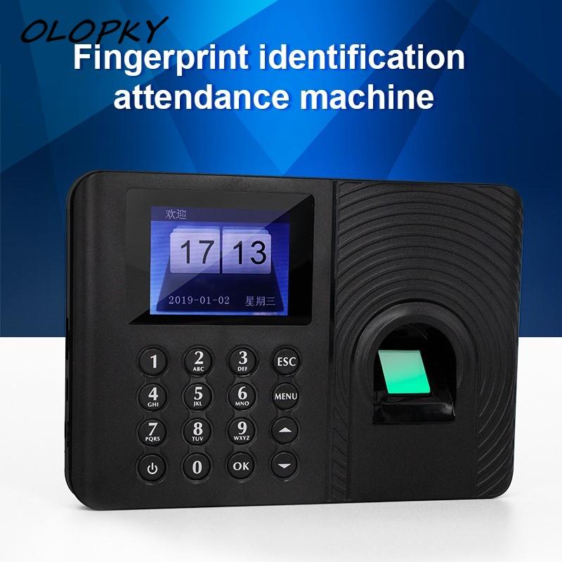 Fingerprint Password Biometric Fingerprint Time Attendance System Clock Recorder Employee Recognition Recording Device Machine