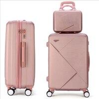 Reise Roll Gepäck sets Koffer set reise Gepäck Koffer 24 Zoll Spinner gepäck koffer für Reise Trolley Taschen räder