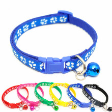 Cats Collars Bell Puppy Dog Safety Adjustable Dropship Nylon with Pet-Dog Lovely