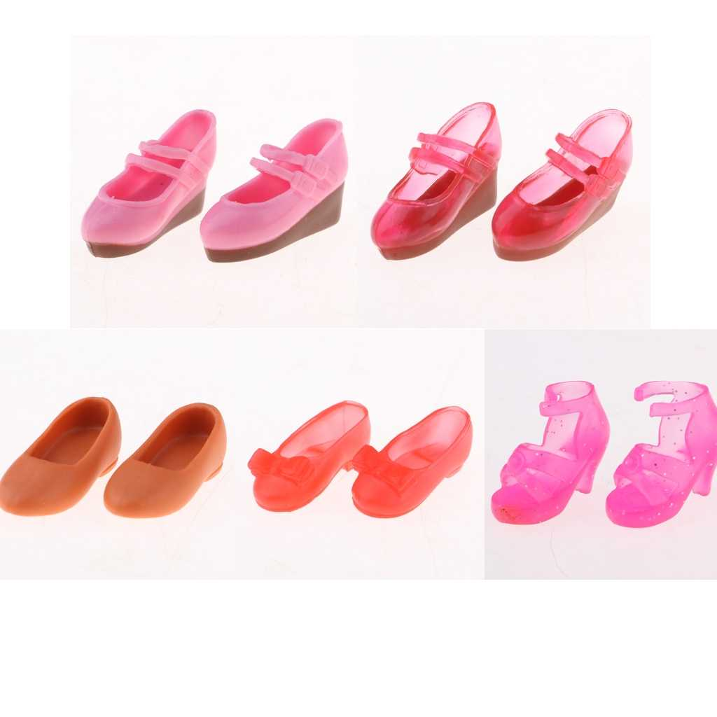 2 Pairs Cute Dolls Sneakers for 1//6 Blythe SD Licca//Momoko//Azone Accessory