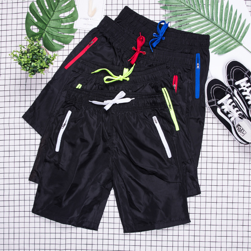 2018 Summer New Style Casual Shorts Men's Fashion Zipper Large Size Fifth Pants