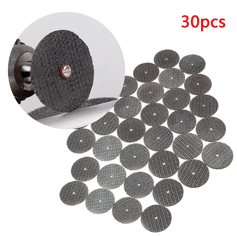 30pcs/lot Double Net Metal Cutting Disc For Grinder Rotary Tool Circular  Wheel Cutting Sanding Disc Machine Accessory