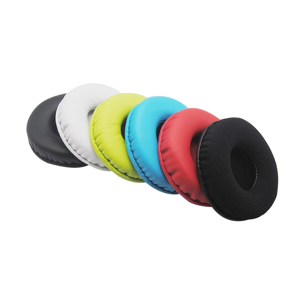 Сменные мягкие полиуретановые накладки из пены с эффектом памяти, цветные амбушюры из сетчатой ткани, круглые 70 мм/2,8 дюйма для наушников