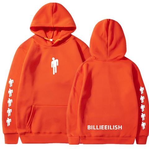 Billie Eilish Fashion Printed Hoodies Women/Men Long Sleeve Hooded Sweatshirts 2019 Hot Sale Casual Trendy Streetwear Hoodies Multan