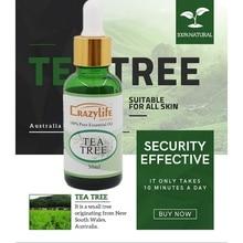 30ML Tea Tree Essence Oil Firming Skin Smooth Fine Lines Bri