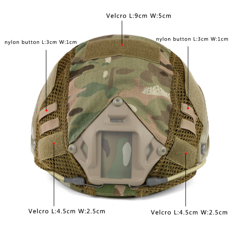 cs capacete rápido capa de alta qualidade