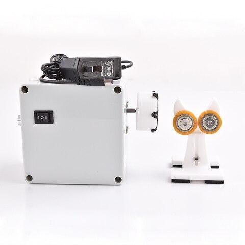 1 set pacote portatil profissional vara de pesca edificio enrolamento elctric drive maquina diy vara