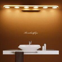JUSHENG Led Wall Lamp Bedside Sconces 9W/12W/15W/18W Light lamp 220V Living Room Bathroom Mirror Indoor