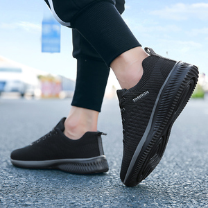Image 5 - New Style Mesh Casual Men Shoes Fashion Lace up Men Shoes Lightweight Breathable Sneakers Male Tenis Feminino Zapatos Size 38 45