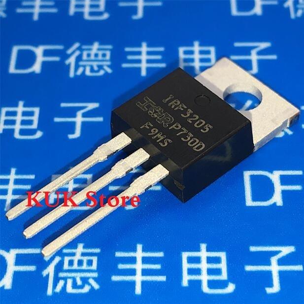 Real 100% Original NEW IRF3205 IRF3205PBF 55V 110A MOSFET TO-220 10PCS/LOT