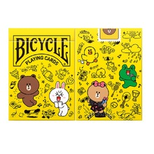 Bicycle Line Friends Play Doodle Playing Cards Cute Cartoon Deck USPCC Limited Edition Poker Magic Card Games Magic Tricks Props