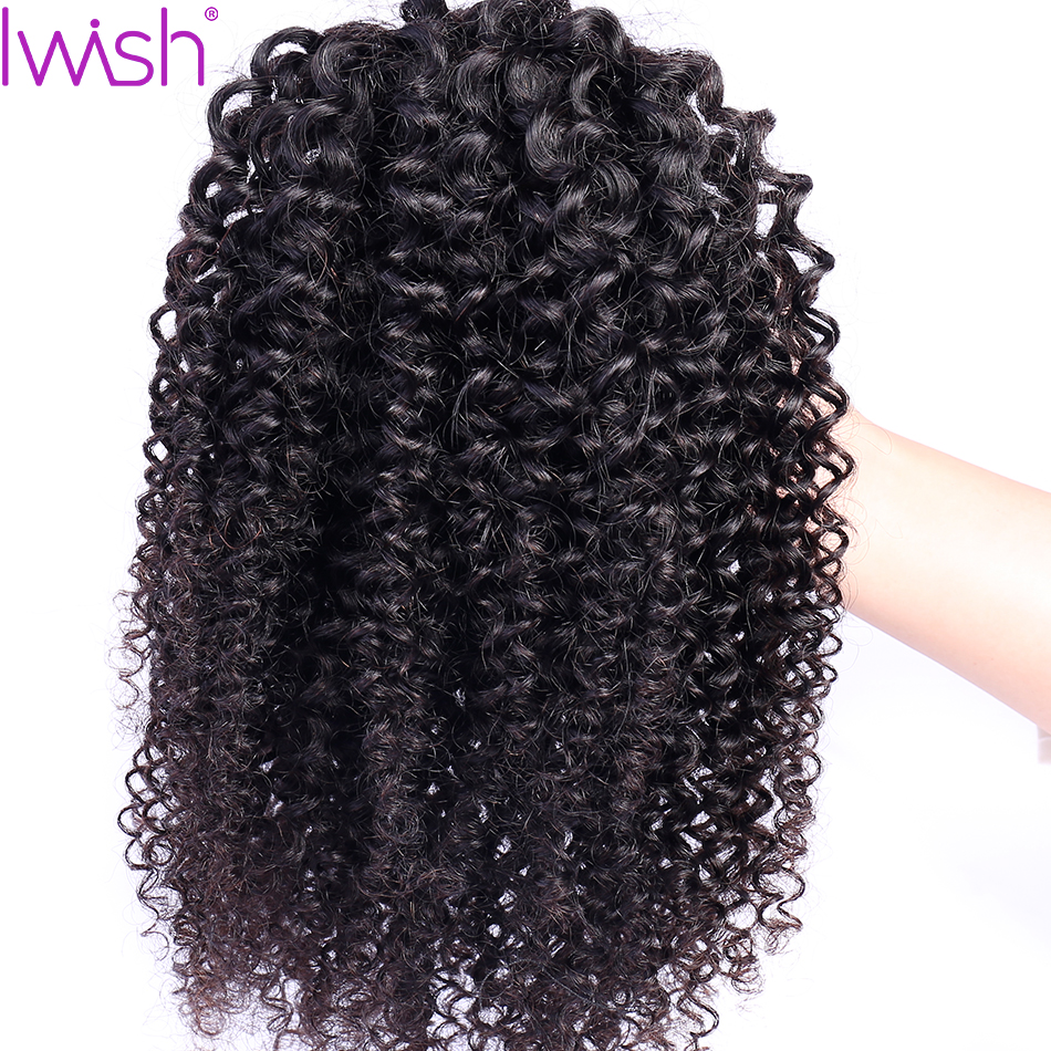 Extensions clip in curly hair