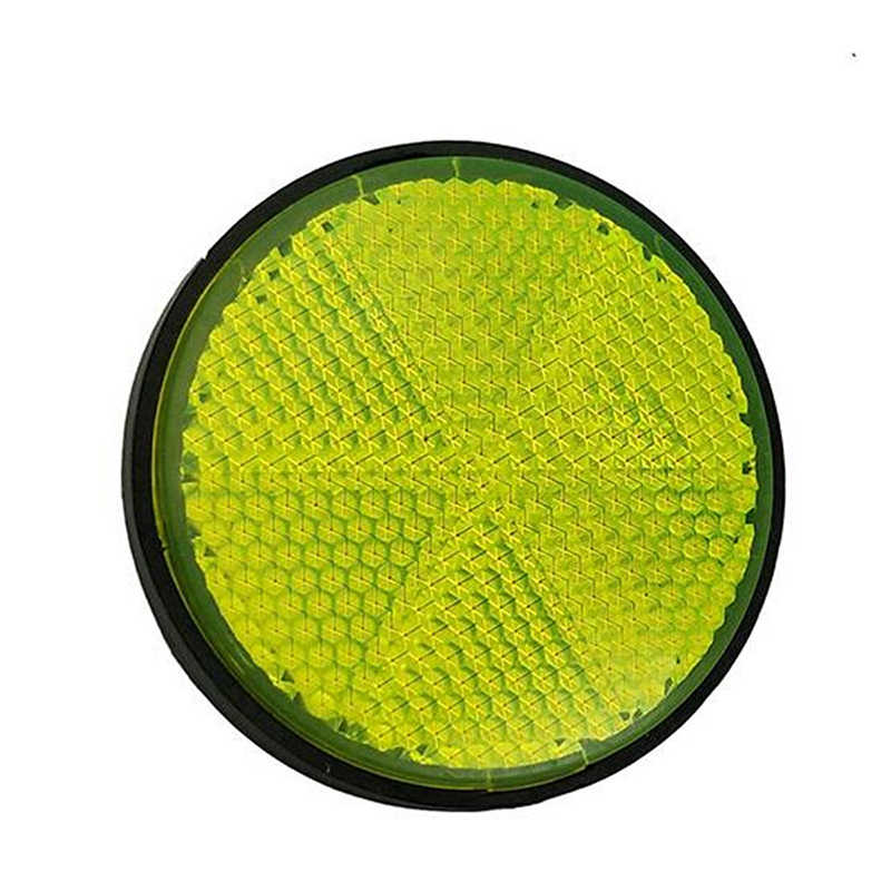Bicycle Bike Round Reflector Night Cycling Safety Reflective Bike Accessory Tool Durable And Long Time Use