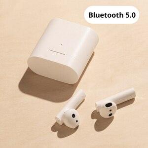 Image 3 - XIAOMI Airdots Pro Air 2 Mi 真のワイヤレスイヤホン空気 2 TWS Bluetooth 5.0 14H バッテリ寿命ミ愛音声制御 LHDC タップ制御