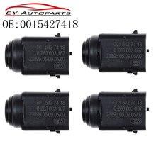 YAOPEI Neue 4 stücke Parkplatz Entfernung PDC Sensor 0015427418 Für Mercedes Benz W203 W209 W210 W211 W220 W163 W168 w215 W 251 S203 C203