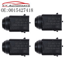YAOPEI Nuovo 4pcs Sensore di Distanza di Parcheggio PDC 0015427418 Per Mercedes Benz W203 W209 W210 W211 W220 W163 W168 w215 W 251 S203 C203