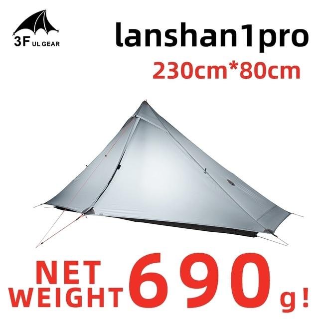 3F UL GEAR Lanshan 1 Pro Tent 1 Person Ultralight 20D tent 2