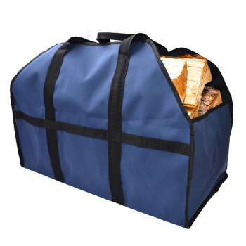 Heavy Firewood Storage Bag Duty Canvas Firewood Carrier Wood Log Holder Indoor Fireplace Firewood Totes Garden Tools фото