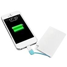 1500mAh Ultra Slim Power Bank Portable External Battery USB