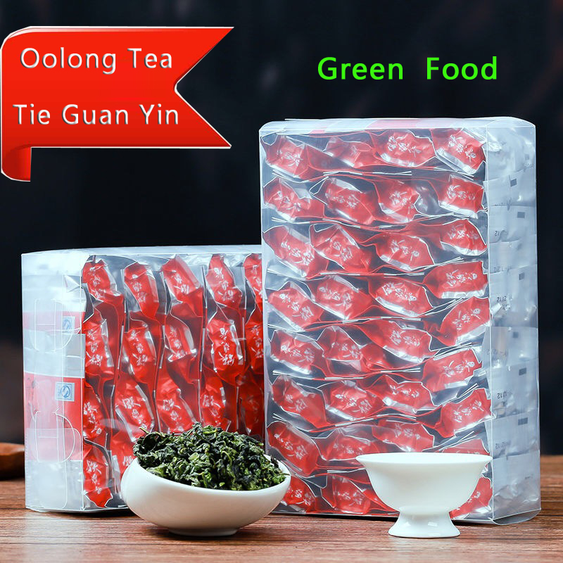 2019 250g China Anxi Tiekuanyin Tea  Organic Oolong Tea For Weight Loss Tea Health Care Beauty Green Food Chengxj