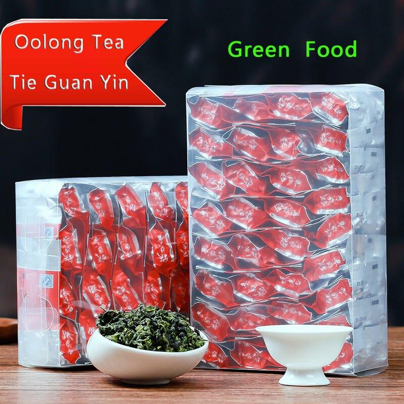 2019 250g China Anxi Tiekuanyin Tea  Organic Oolong Tea For Weight Loss Tea Health Care Beauty Green Food Chengxj