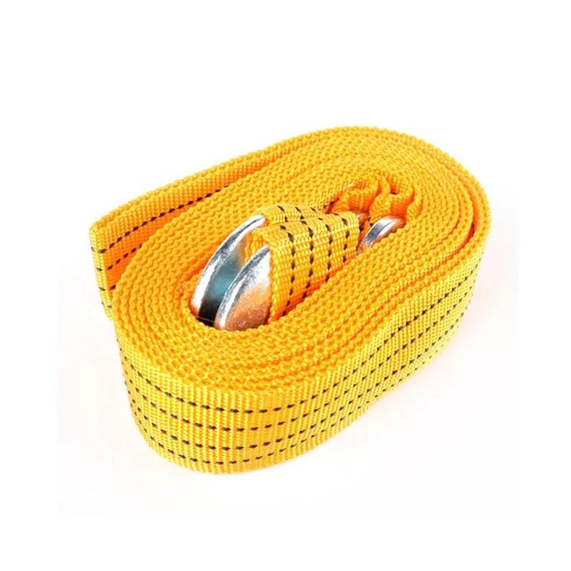 4M 3 tonnes câble de remorquage de voiture robuste remorquage corde de remorquage sangle crochets Van secours routier
