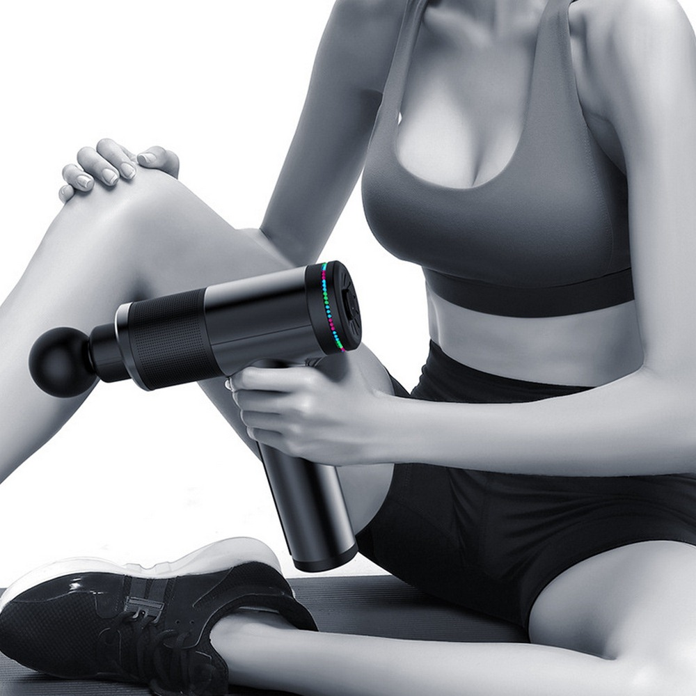 Muscle Massager Massage Gun Muscle Charging Deep Dynamic Therapy Vibrator Training Body Relaxation Slimming Shaping Pain Relief5