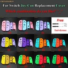 1Set Candy Kleur Combineren Voor Nintend Schakelaar Vreugde Con Behuizing Shell Cover Vreugde Con Controller Hard Case roze Blauw