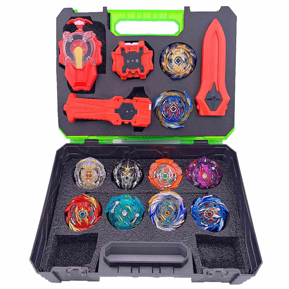 Beyblade 버스트 Arean Bayblades Bables 세트 박스 Bey Blade Toys For Child Metal Fusion 새로운 선물
