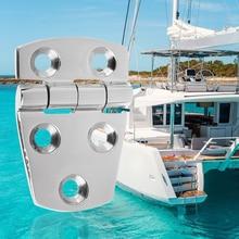 """1 шт. 2,2"""" X 1,5"""" универсальные дверные петли для лодок 316 петли из нержавеющей стали аксессуары для лодок толщина 0,16 дюйма"""
