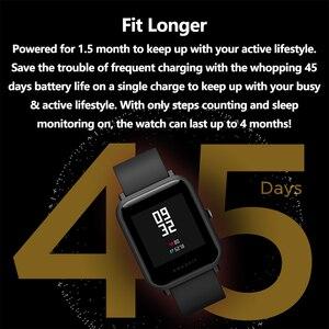 Image 2 - Phiên Bản Toàn Cầu Amazfit Bip Lite Đồng Hồ Thông Minh Huami Nhẹ Đồng Hồ Thông Minh Smartwatch Với 45 Ngày Chờ GPS