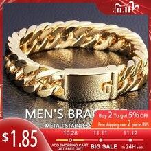 Новый модный браслет цепочка из кубинской цепи мужской Браслет
