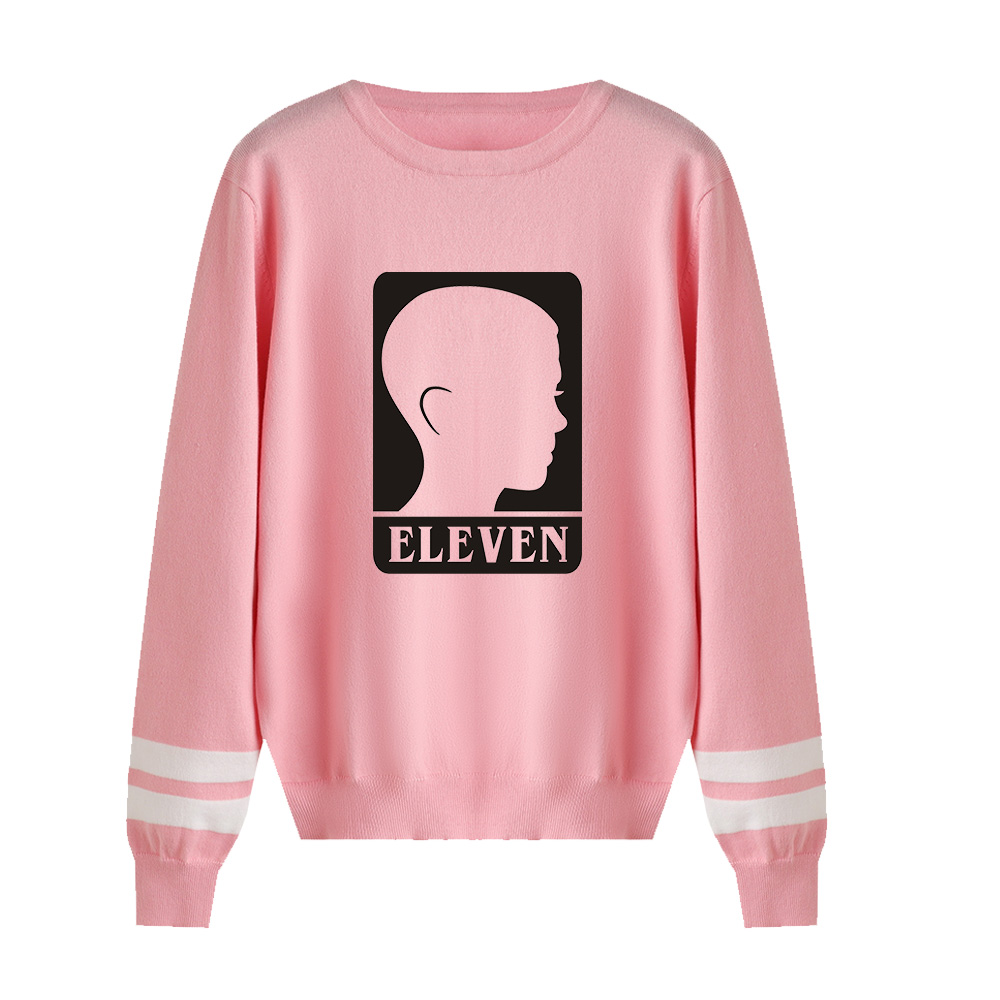 Stranger Things Capless Hoody Men/women New Fashion Print Autumn Winter Long Sleeve Warm Casual Knitted Casual Sweater Tops