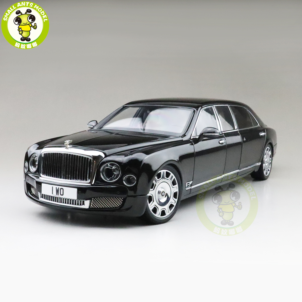 1/18 Almost Real Mulsanne Grand Limousine Mulliner Diecast Metal Model Car Gifts Collection Hobby