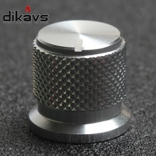 High Quality 1pcs 17*16mm Aluminum Potentiometer Knob for 6mm Round Shaft