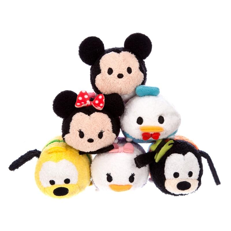 2020 Genuine Disney Mickey Tsum Tsum Plush Doll Mini 9CM Cartoon Animal