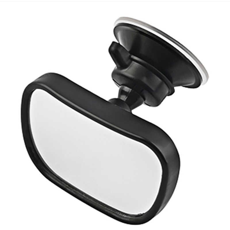 2 In 1 Mini Keselamatan Mobil Kembali Kursi Bayi Cermin Adjustable Bayi Belakang Cembung Cermin Mobil Bayi Anak-anak Monitor mobil Styling