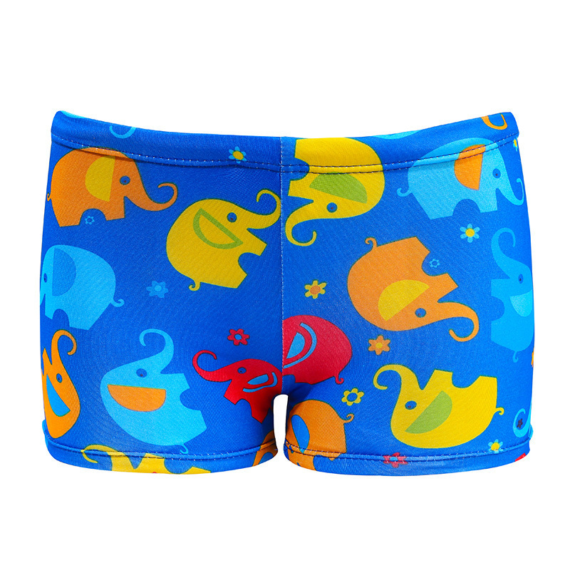 Cross Border Swimming Trunks Children Multi-color Anime Size Child Boxer Swimming Trunks Printed Bathing Suit Cute Cartoon Swimw