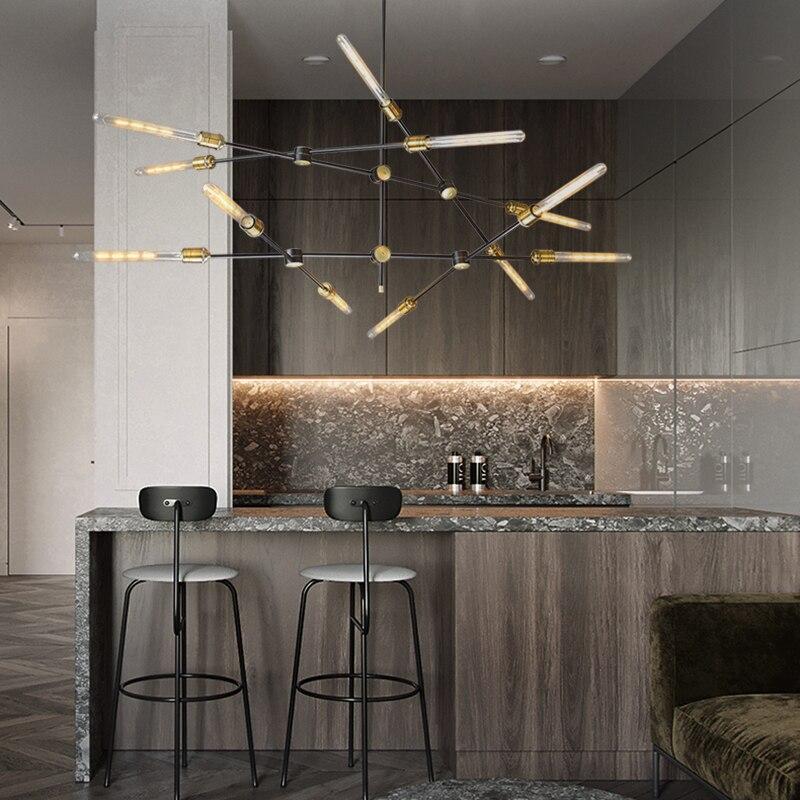 Vintage Glass Iron LED Pendant Lights Lighting Industrial Pendant  Lamp Dining Living Room Bedside Bedroom Bar Loft Hanging Lamp|Pendant Lights| |  - title=