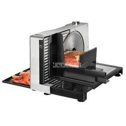 Semiautomático cortador de carne comercial/casa elétrica carneiro rolls máquina de corte de carne vegetal salsicha máquina de corte