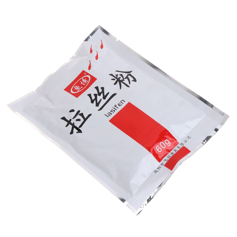 Bait Additive Strong Adhesive High Protein Powder 60g Groundbait Sticky Carp Freshwater Fish Feeder Adhesives Accessories image